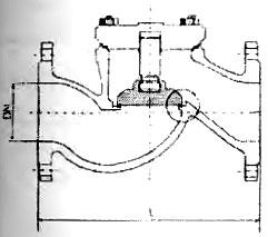 Клапан обратный УК 44016